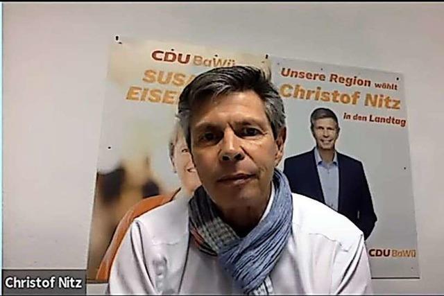 Christof Nitz (CDU) im BZ-Fragenwirbel:
