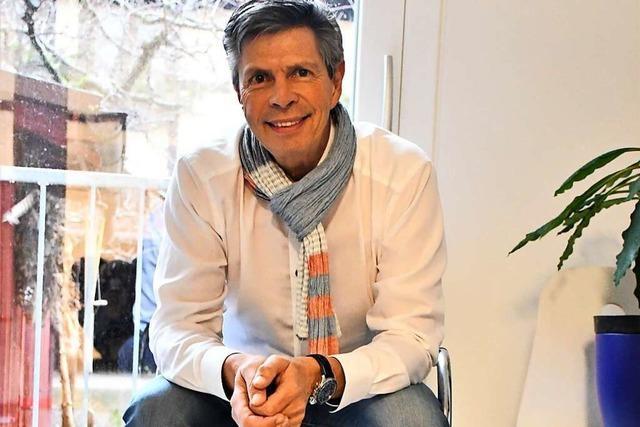 Christof Nitz (CDU) will mit seiner Erfahrung als zweifacher Bürgermeister punkten