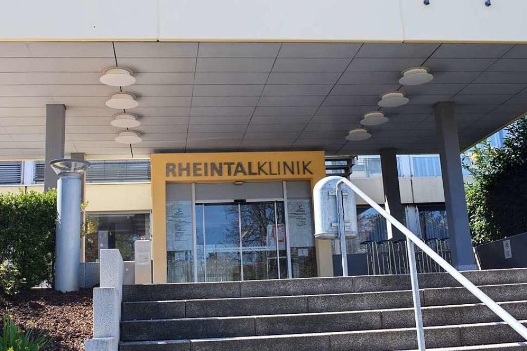 Die Rheintalklinik hatte zu Beginn der...nkenden Patientenzahlen und Einnahmen.  | Foto: Frank Schoch