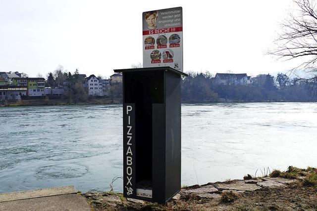 Pizzabox soll für Sauberkeit sorgen