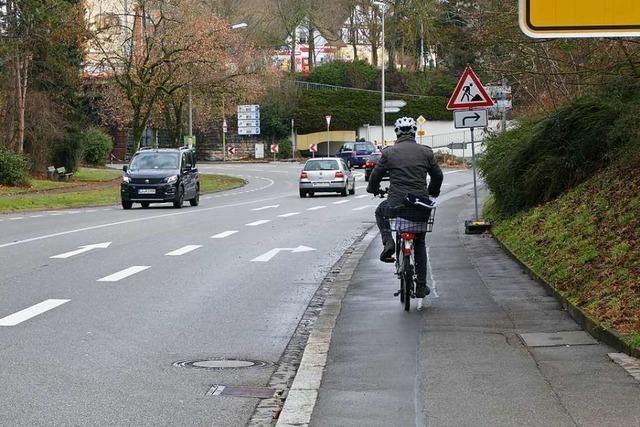 Rheinfelden bekommt mehr Schutzstreifen für Radfahrer