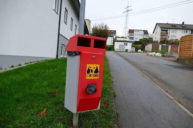 Spendenaufruf für Hundetoiletten in Kandern-Tannenkirch