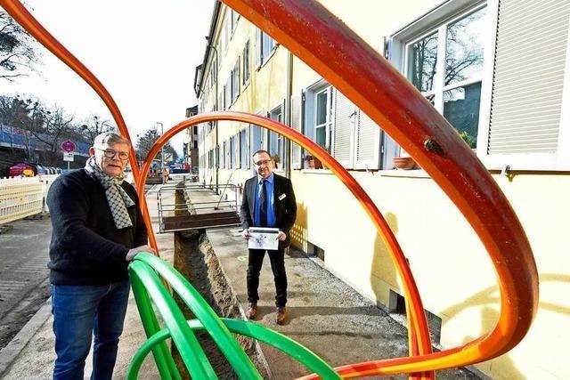 Die Firma Cable 4 gräbt für das schnelle Netz in Freiburg