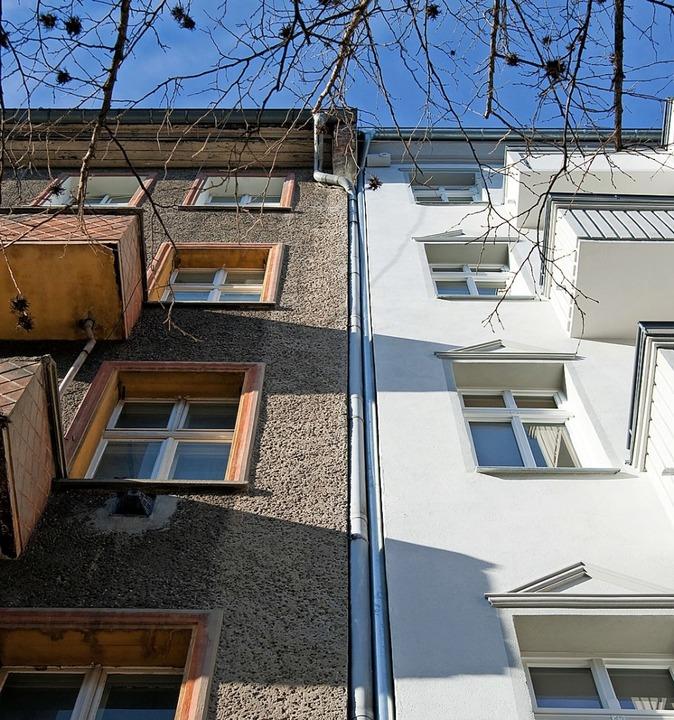 Es lebe der Unterschied! In der Regel ... Optik, sondern auch die Wohnqualität.  | Foto: Andrea Warnecke