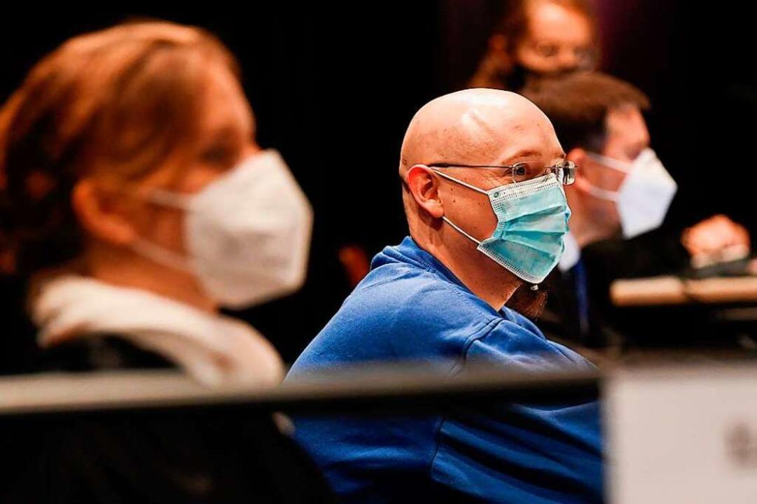 Im Prozess gegen Yves R. ist vor dem L...icht in Offenburg das Urteil gefallen.  | Foto: THOMAS KIENZLE (AFP)