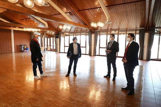 Gute Chancen auf weiteren Zuschuss für die Friesenheimer Sternenberghalle