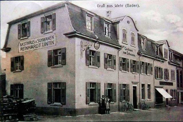 Der Adel prägte das erste Wehrer Gasthaus