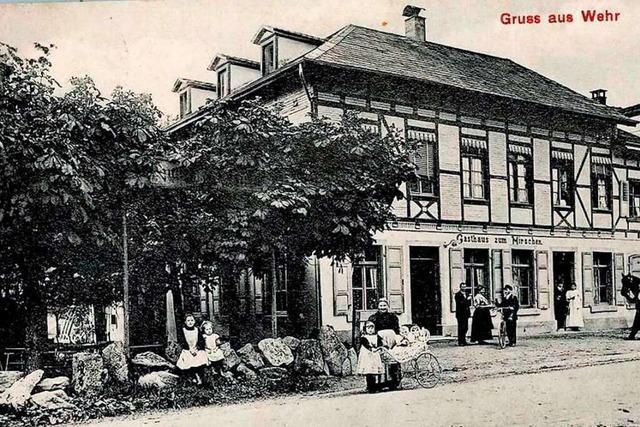 Wehr erlebte um 1900 einen regelrechten Wirtshausboom