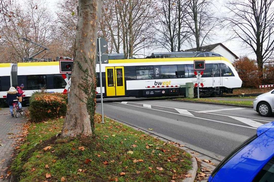 Der Vorfall ereignete sich am 15. Januar zwischen Bad Krozingen und Staufen.  | Foto: Frank Schoch