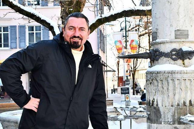 Dubravko Mandic (AfD) sieht sich selbst als Kämpfer