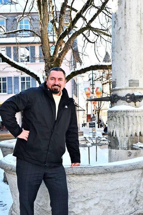 Dubravko Mandic in Lörrach  | Foto: Barbara Ruda