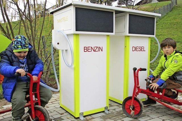 Münchweier hat wieder eine Tankstelle