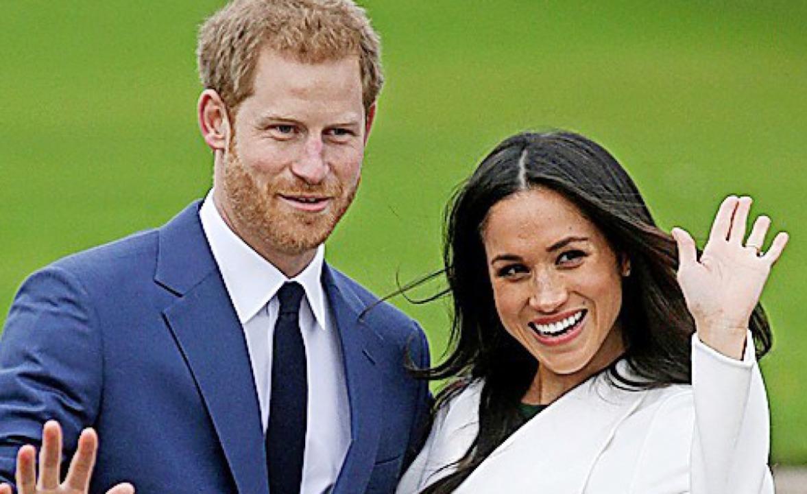 Prinz Harry und  Meghan    Foto: DANIEL LEAL-OLIVAS (AFP)