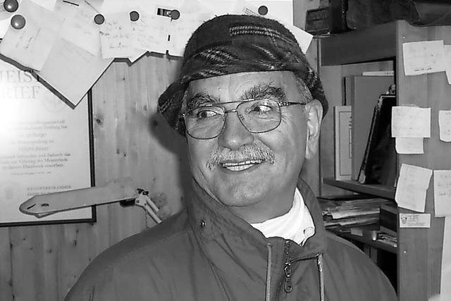 Trauer in Elzach um den langjährigen Stadtkommandanten Bernhard Burger