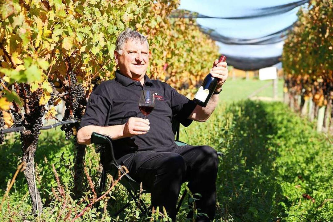 Der Bischoffinger Karl Johner auf seinem neuseeländischen Weingut.  | Foto: Johner
