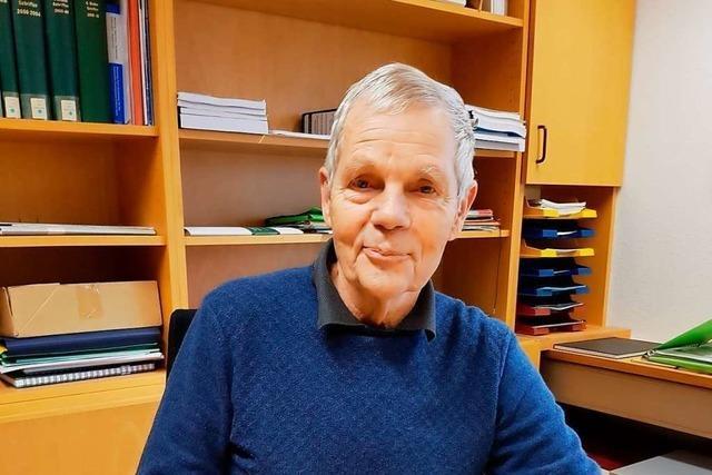 Der Freiburger Forstwissenschaftler Gero Becker feiert seinen 75. Geburtstag