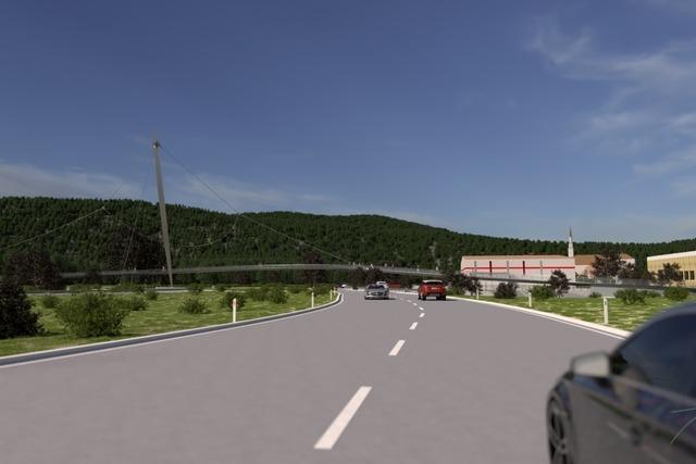 Wie könnte die Brücke zwischen Steinen und Höllstein aussehen?