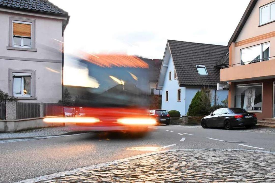 Pfaffenweiler legt Wert auf einen attraktiven Nahverkehr.  | Foto: Jonas Hirt