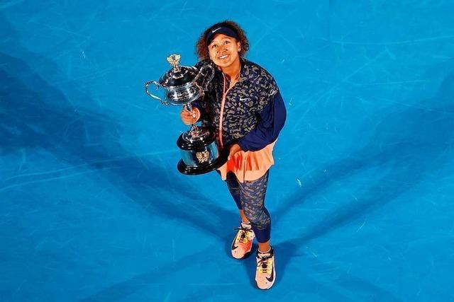 Naomi Osaka ist Australian-Open-Siegerin