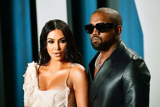 Kim Kardashian reicht die Scheidung von Kanye West ein