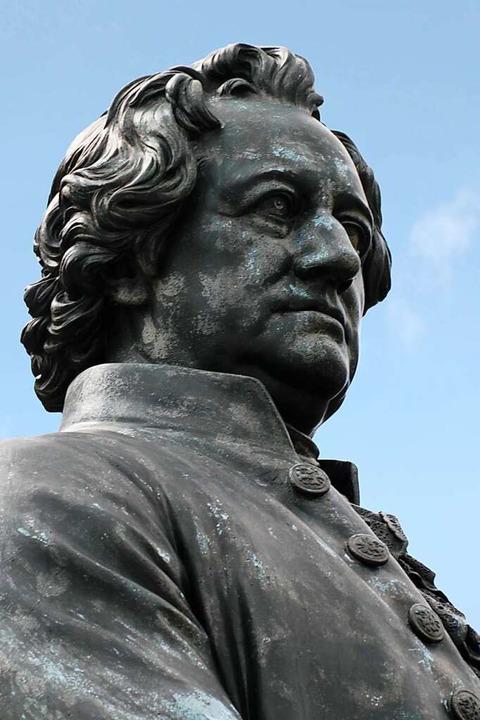 Strenger Blick: Johann Wolfgang von Goethe angesichts des digitalen Wandels  | Foto: ArTo  (stock.adobe.com)