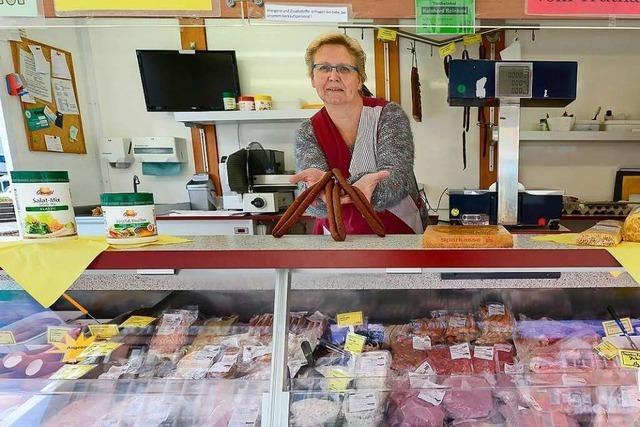 In Zähringen ist der Wochenmarkt eher überschaubar
