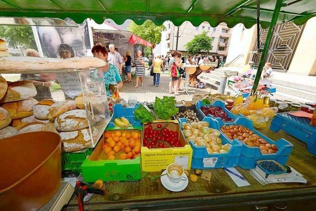 In Freiburg-Haslach ist jetzt immer freitags Markt