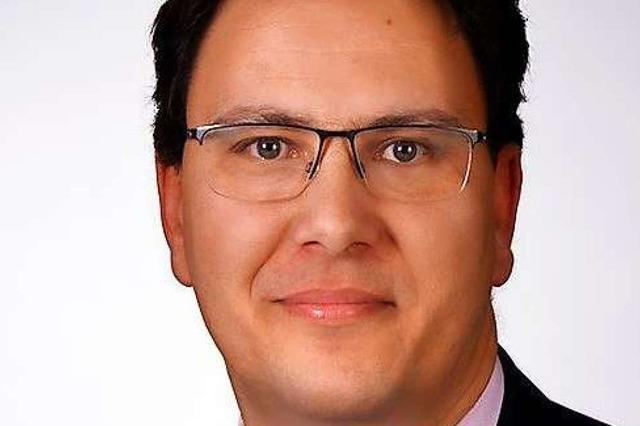 Ronny Biesinger wird neuer Tiefbaudezernent in Müllheim