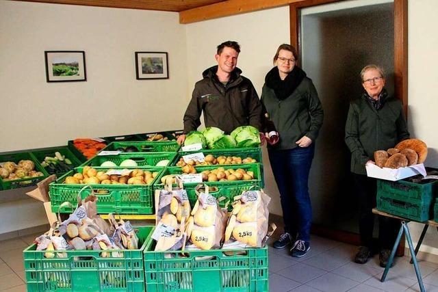 Hofladen Lang in Wintersweiler verkauft vor allem eigenes Gemüse