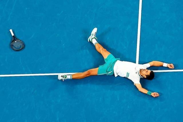 Djokovic feiert in Melbourne seinen 18. Grand-Slam-Titel