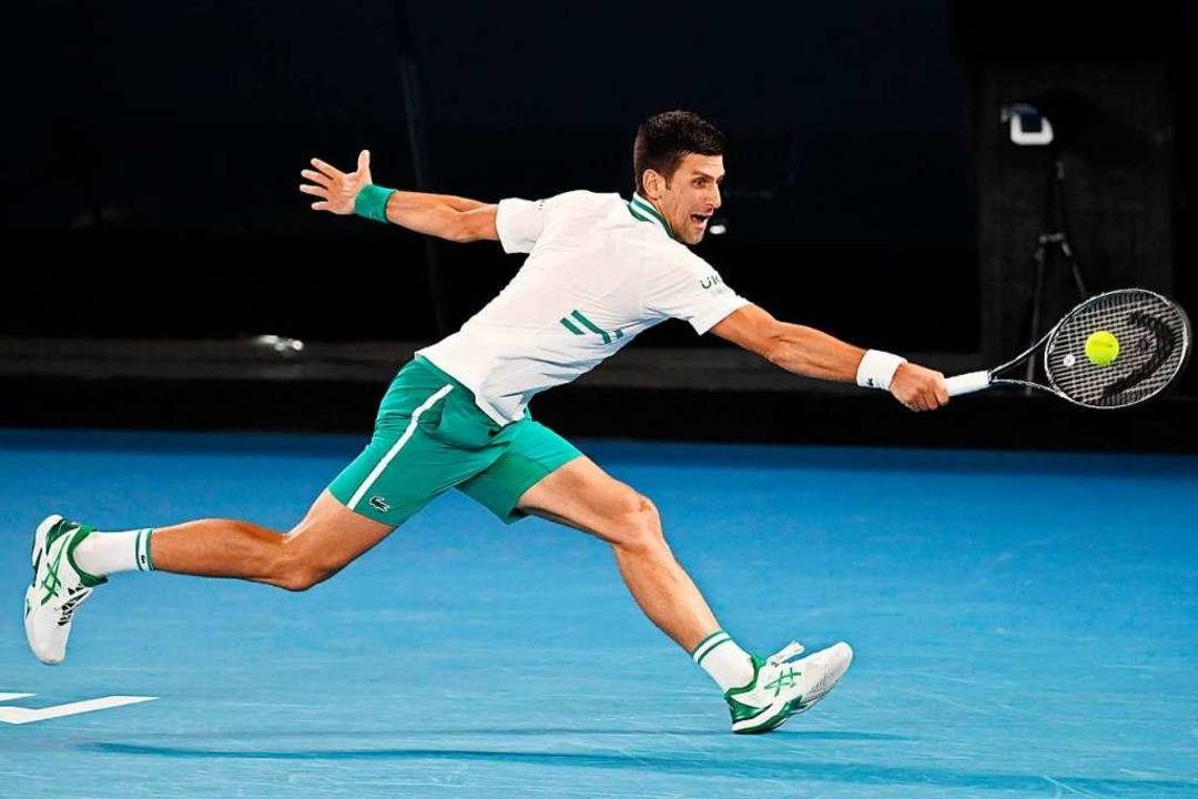 Australian-Open-Sieger Novak Djokovic  | Foto: WILLIAM WEST (AFP)