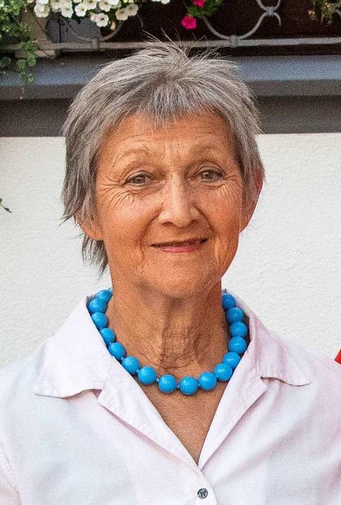 Ursula Zehner: Umweltschutz war ihr ein wichtiges Anliegen.    Foto: Volker Münch