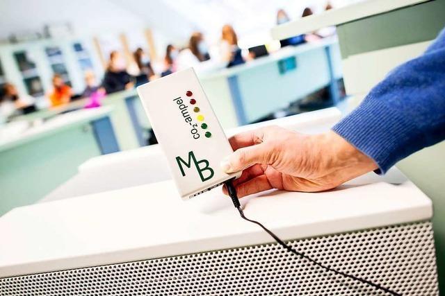 Klassenzimmer in Lörrach werden mit CO<sub>2</sub>-Ampeln ausgestattet
