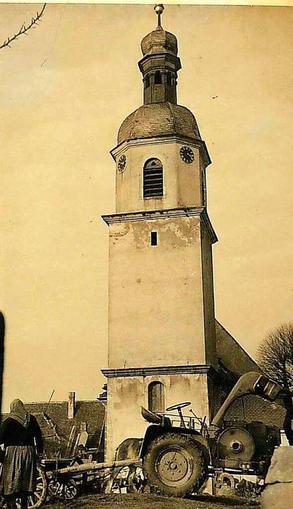 Die zu klein gewordene und sanierungsbedürftige Vorgängerkirche  | Foto: Privat