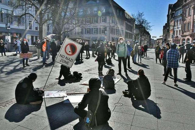 Zwei Demonstrationen in Lörrach am Sonntag