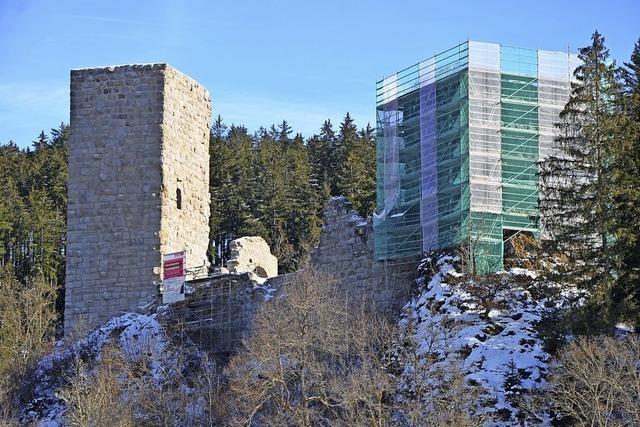 Roggenbacher Schlösser in der Pause