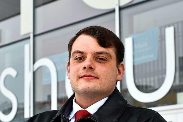Karl Schwarz (AfD) will für Handwerk und Mittelstand stehen