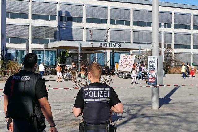 Corona-Demonstranten finden in Weil am Rhein weitere Fürsprecher