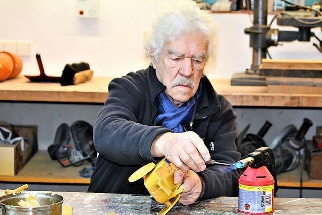 Ein Tüftler und Künstler: Rainer Stiefvater aus Niederrimsingen