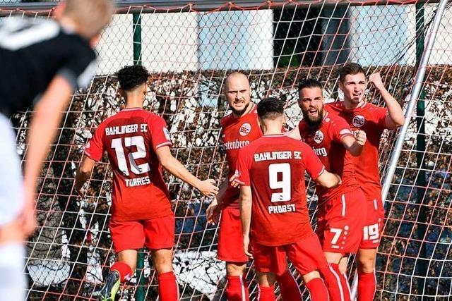 2:0 gegen TSG Balingen – der Bahlinger SC ist nahe dran am Optimum
