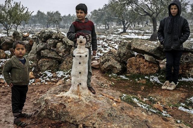 Hilferuf aus Syrien