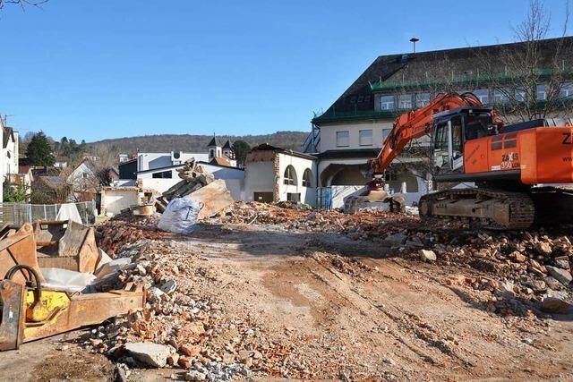 Mit Abbruch der Fridolinsporthalle Lörrach beginnt das Gesamtprojekt