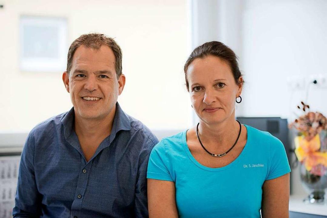 Die promovierten Ärzte Christoph und S...e Chirurgische Praxis und Tagesklinik.    Foto: Chirurgie Waldkirch