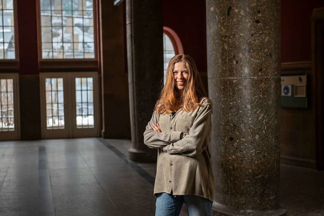 """""""Die Demokratie braucht eine Ergänzung"""", sagt Charlotte Felthöfer.    Foto: Andree Kaiser"""