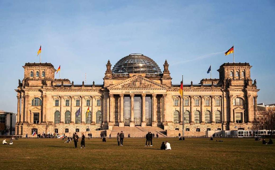 Das Reichstagsgebäude in Berlin    Foto: Christophe Gateau (dpa)