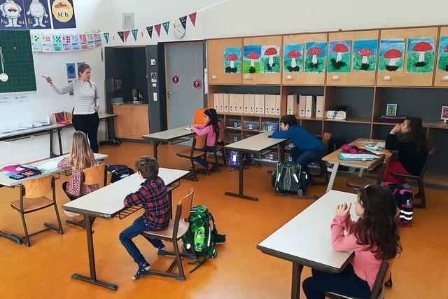 So lief der erste Schultag an der Lörracher Albert-Schweitzer-Schule
