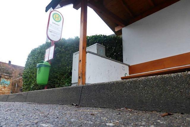 Pfaffenweiler will barrierefreie Bushaltestellen im Ort