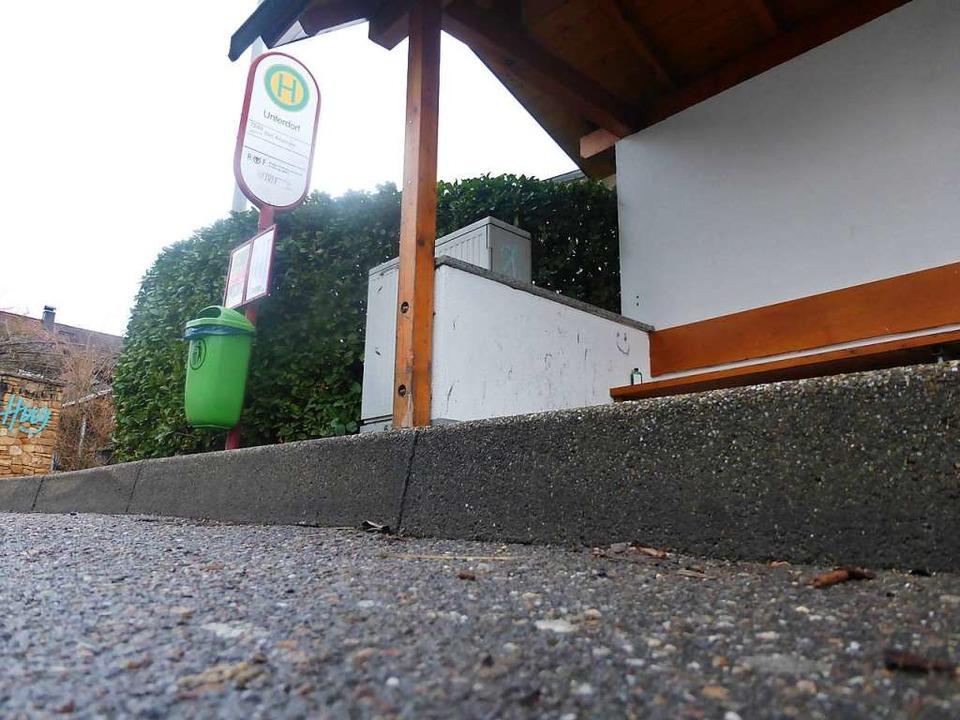 Haltestellen sollen erhöht werden, um ...efreien Zugang zum Bus zu ermöglichen.    Foto: Andrea Gallien