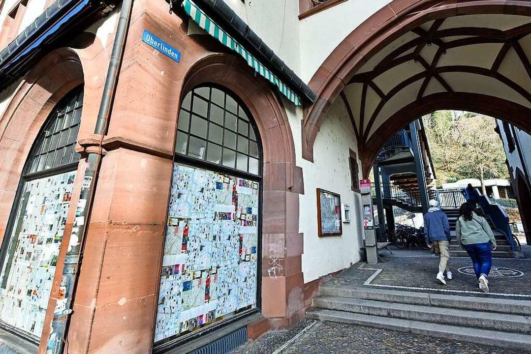 Die Galerie Bollhorst am Schwabentor h...überlebe sie nicht, sagt der Betreiber  | Foto: Michael Bamberger