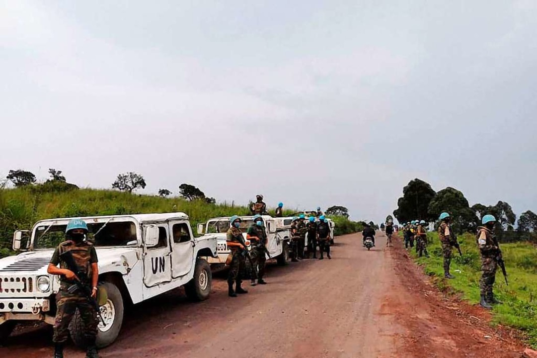 Der Konvoi im Osten des Landes  | Foto: ALEXIS HUGUET (AFP)